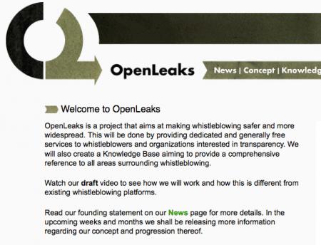 Internet: OpenLeaks, portale di informazione rivale di Wikileaks