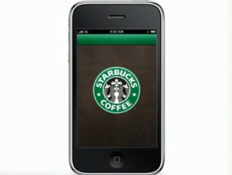 Smartphone per pagamenti wireless da Starbucks