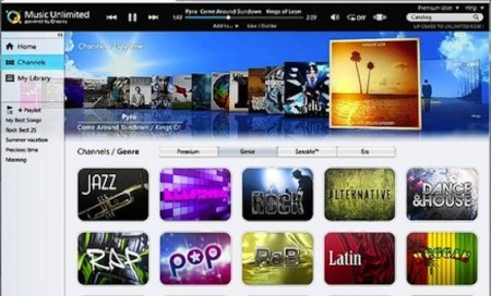 Sony Music Unlimited in Italia: l'anti iTunes per la musica in streaming