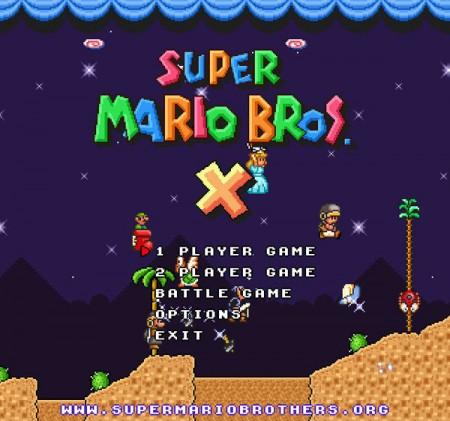 Super Mario Bros. X: videogioco gratis realizzato dai fan