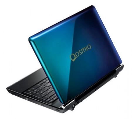 Notebook Toshiba Qosmio con scocca a colori cangianti!