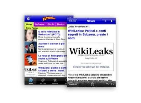 Tuttogratis App per iPhone: tutte le news del web, gratis