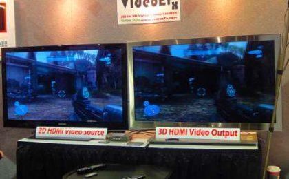 Conversione 2D a 3D in Full HD con VideoEFX