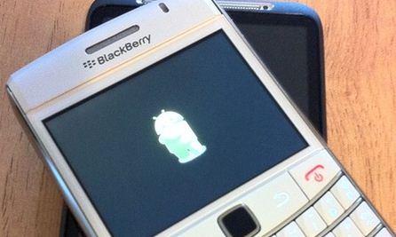 Applicazioni Android: già iniziati i test su smartphone BlackBerry?
