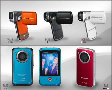 Videocamere Panasonic: waterproof e resistenti agli urti