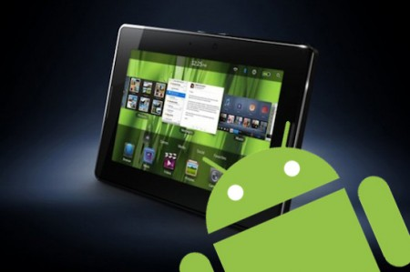 Blackberry Playbook compatibile con Android apps?