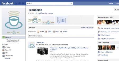 Pagina Fan di Facebook: ecco le novità del nuovo layout