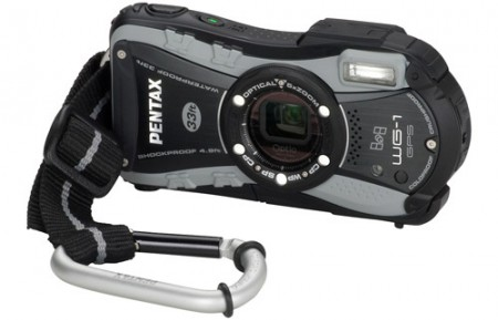 Fotocamera Pentax WG-1: la nuova sportiva con GPS
