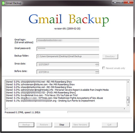 "Backup Gmail: come salvare le email di ""BIG G"" su computer"