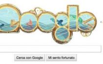 Google Doodle: omaggio a Jules Verne con il logo Nautilus