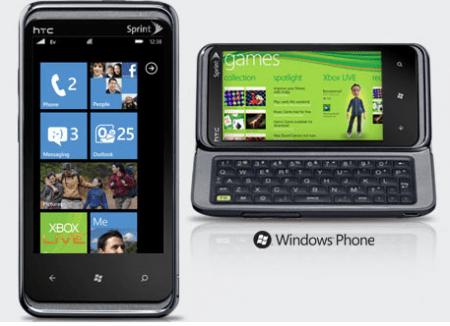 HTC Arrive, Windows Phone 7 con copia&incolla