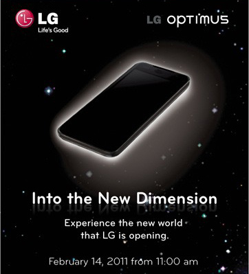 LG Optimus 3D, lo smartphone Android 3D al MWC 2011