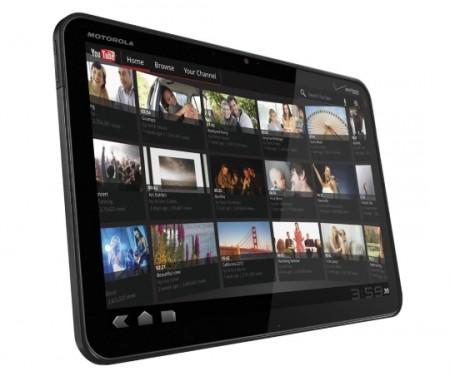 Motorola Xoom in Europa nelle versioni Wi-Fi e 3G