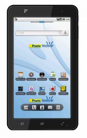 Tablet Android PM 1152 Tabula di ZTE, prezzo e scheda tecnica
