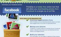 Scaricare foto da Facebook con Pick&Zip