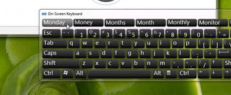 tastiera virtuale windows 7