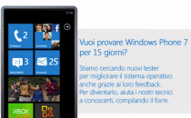 Windows Phone 7: proponiti per provarlo come tester