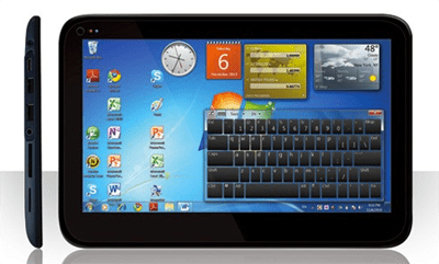 Tablet Windows 7 MasterPad: scheda tecnica completa
