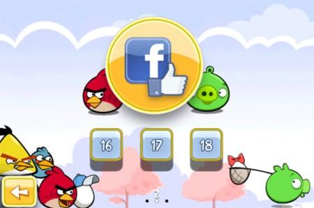 Angry Birds su Facebook: il gioco dei record sbarca sul social network