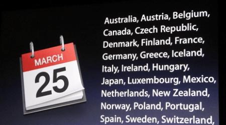 iPad 2: uscita in Italia fissata il 25 marzo