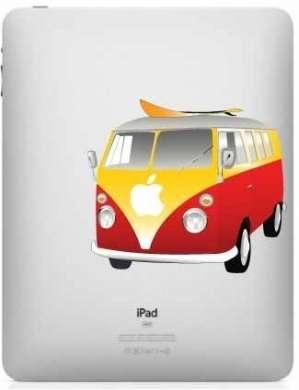 Apple iPad personalizzati con le decalcomanie Geek