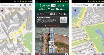 Google Maps per Android si aggiorna, ecco le novità