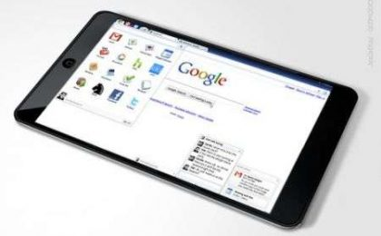 Google Nexus Tablet con Android HoneyComb prodotto da LG?
