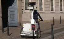 Google Street View: foto del triciclo di Google a Monza
