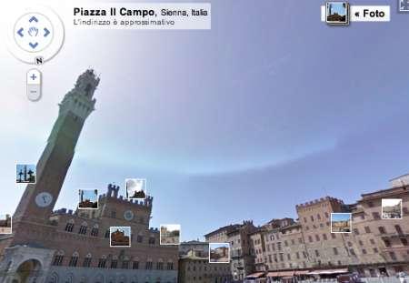 Google Street View per il Gran Tour europeo a portata di clic