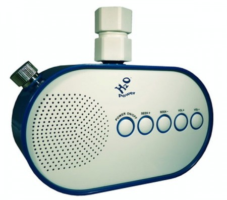 Idee Regalo: RadioDoccia alimentata ad acqua