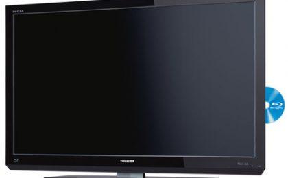 HD TV Toshiba Regza con Blu Ray integrato