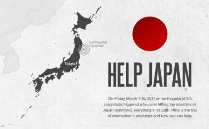 Terremoto in Giappone: i numeri in una infografica