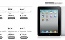 iPad 1: prezzo abbassato dopo la presentazione delliPad 2