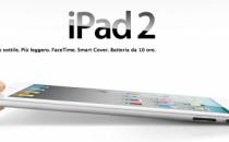 iPad 2 scheda tecnica ufficiale
