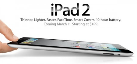 Apple iPad 2 esce oggi negli States