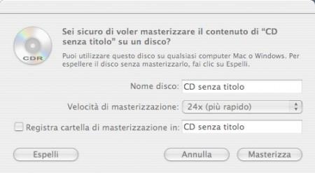 masterizza dvd mac