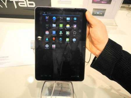 Samsung Galaxy Tab solo Wi-Fi con un prezzo di $399