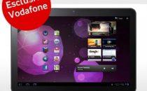 Samsung Galaxy Tab 10.1 prezzo ufficiale Vodafone