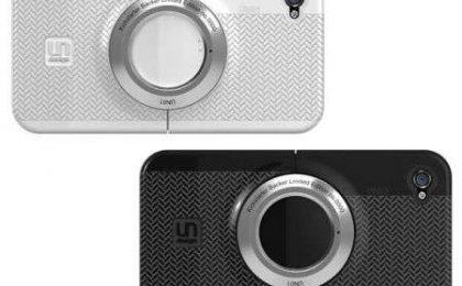 iPhone 4: una custodia lo trasforma in macchina fotografica