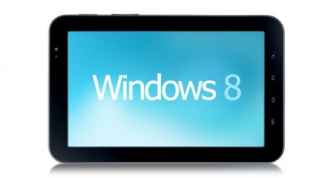 Tablet Windows 8 non prima dell'estate 2012