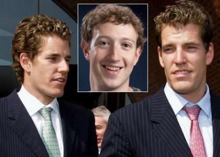 Facebook: Mark Zuckerberg respinge l'assalto dei gemelli