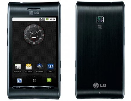 LG Optimus GT540 android