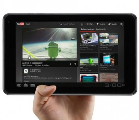 LG optimus Pad android 3d