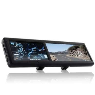 Navigatore GPS nello specchietto retrovisore bluetooth