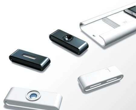 Concept: telefono cellulare con moduli intercambiabili