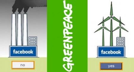 Facebook più verde: Greenpeace esorta all'ecologia