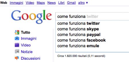 Google Suggest: i giudici italiani condannano i suggerimenti