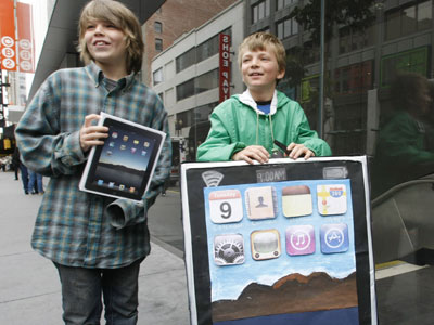 iPad 2: il tablet Apple sbarca in un asilo americano
