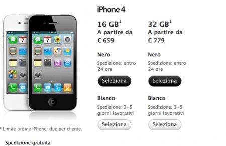 iphone 4 bianco prezzo