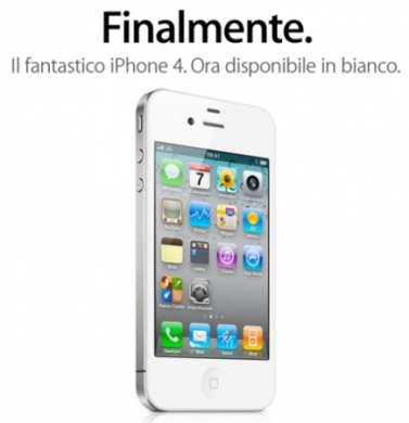 iPhone 4 bianco è 0.2 mm più spesso del nero